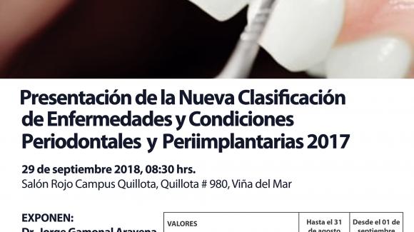 JornadaPostgrado Periodoncia UNAB-SPCh filial Valparaíso