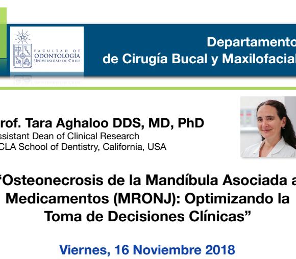 """""""Osteonecrosis de la Mandíbula Asociada a Medicamentos (MRONJ): Optimizando la Toma de Decisiones Clínicas"""""""