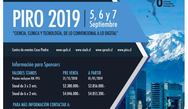 Valor Stand Congreso PIRO 2019