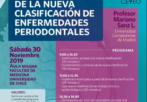 """""""Curso Implementación de la Nueva Clasificación de Enfermedades Periodontales"""""""