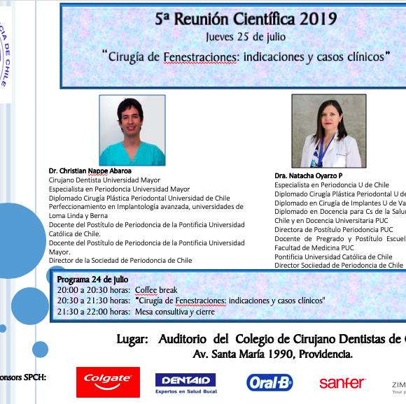 Quinta Reunión Científica 2019