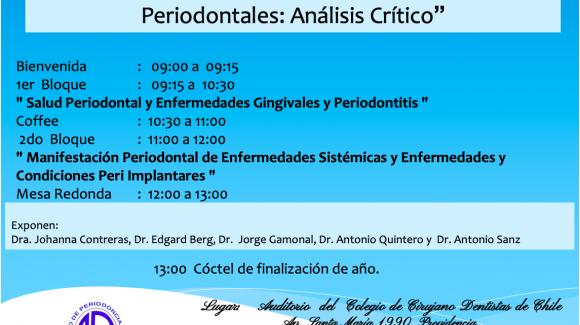"""""""Nueva Clasificación Enfermedades Periodontales"""""""