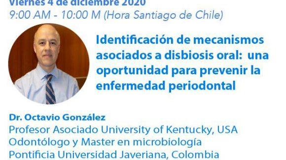 Ciclo de Webinars: Investigación en  Odontología, desafíos del Siglo XXI