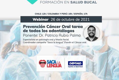 Prevención Cáncer Oral tarea de todos los Odontólogos